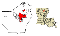 250px-Ouachita_Parish_Louisiana_Incorporated_and_Unincorporated_areas_Monroe_Highlighted.svg