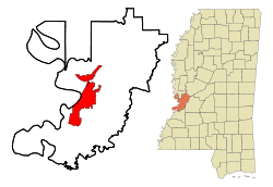 Vicksburg location