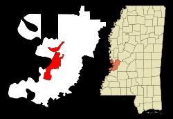 Vicksburg location
